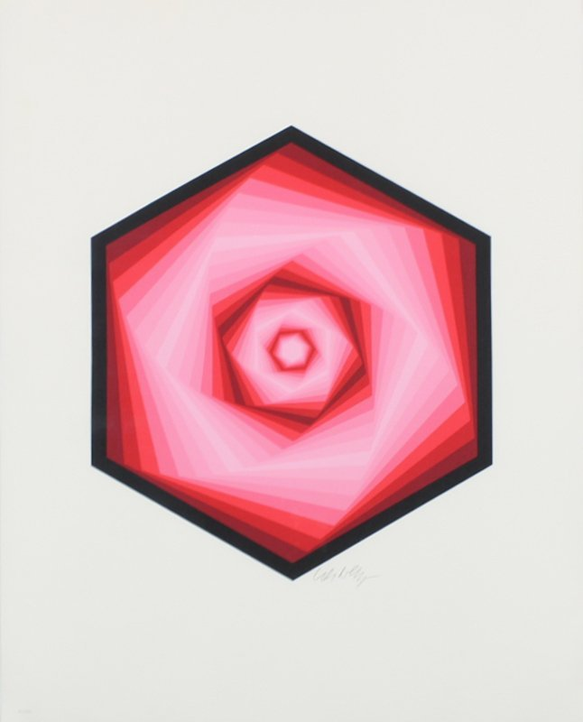Victor Vasarely (1906-1997) Hungarian