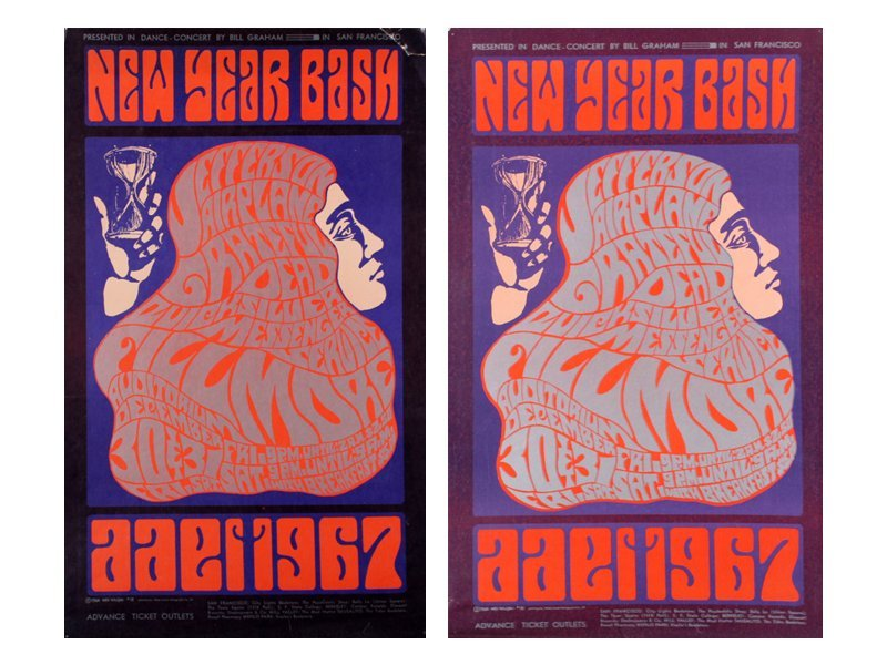 1960's Psychedelic Rock n Roll posters: