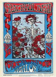 1960�s Psychedelic Rock n Roll poster: