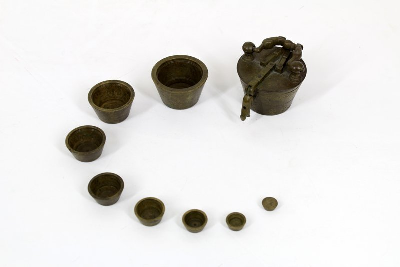 Antique Brass: Weights and Measures (19th / 20th - 2