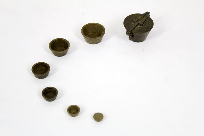 Antique Brass: Weights and Measures (19th / 20th - 3