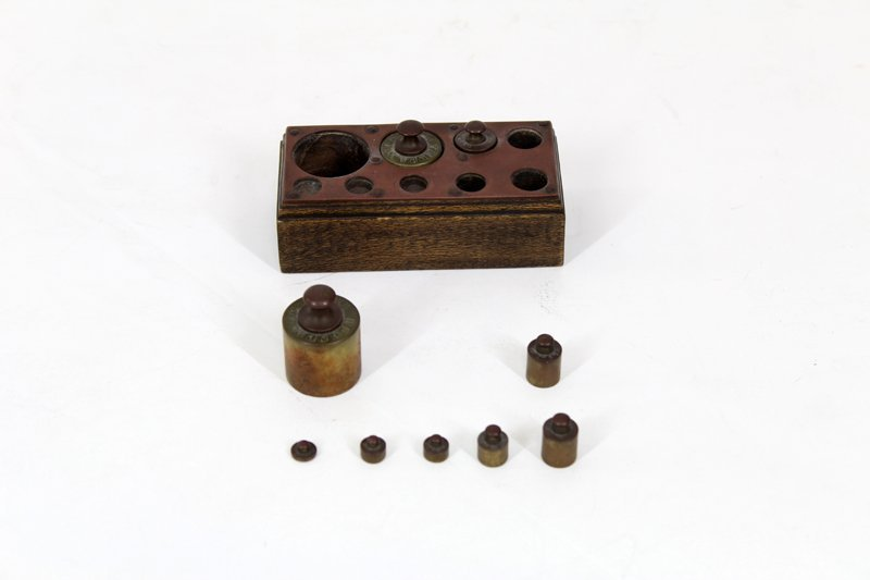 Antique Brass: Weights and Measures (19th / 20th - 4