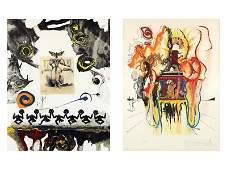 Salvador Dali (1904-1989) Spain (two)