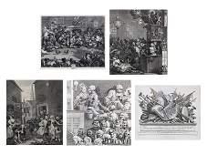 William Hogarth 16981794 English five