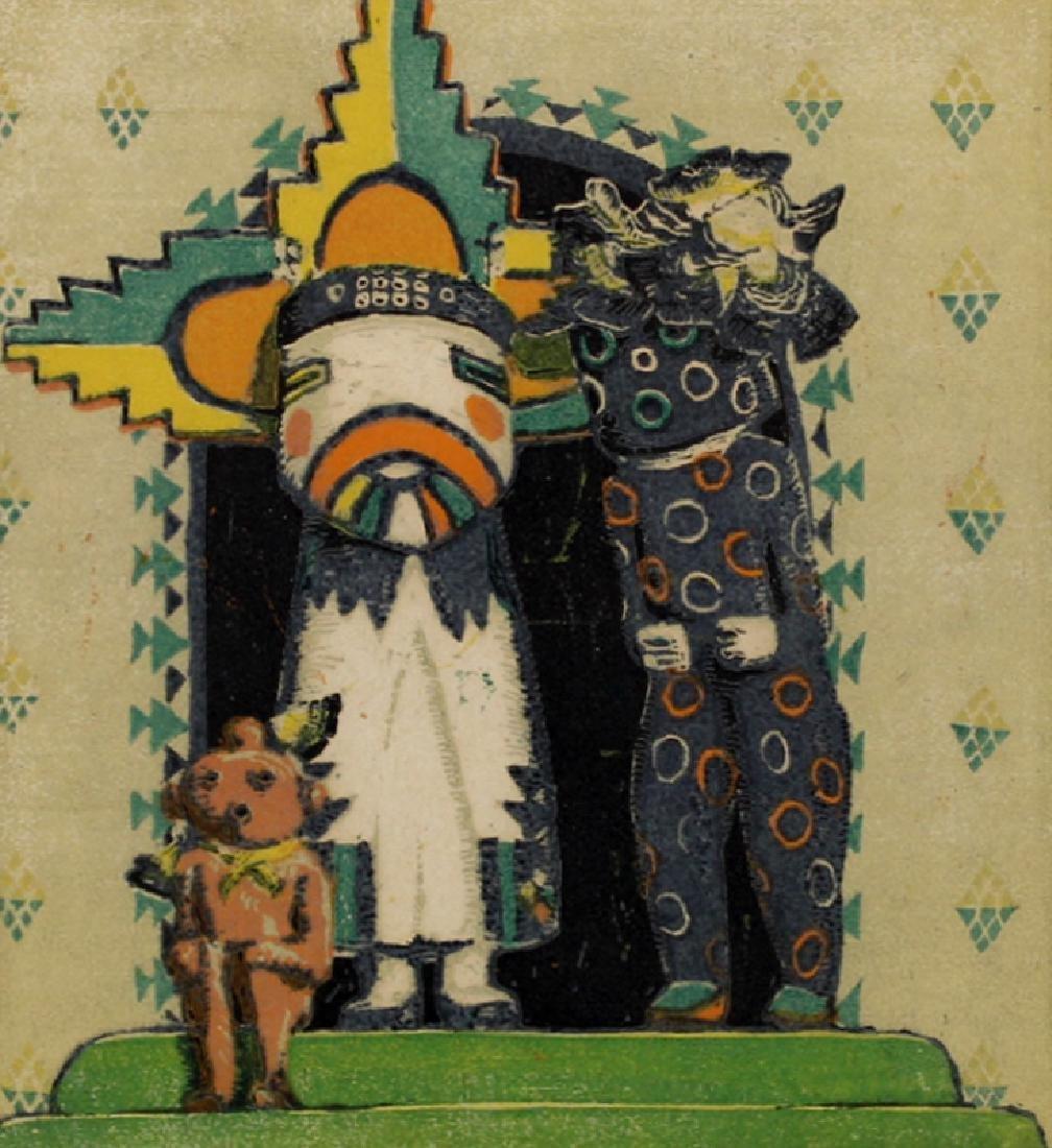 Gustave Baumann (1881-1971) New Mexico