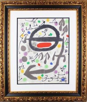 Joan Miro (1893-1983) Spanish