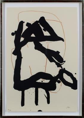 Robert Motherwell (1915-1991) American