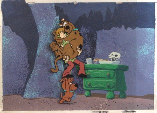8: Animation Cel: Scooby Doo