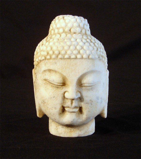 20: 19th/20th Century Asian Buddha Head