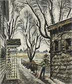 Charles Burchfield (1893-1967) New York