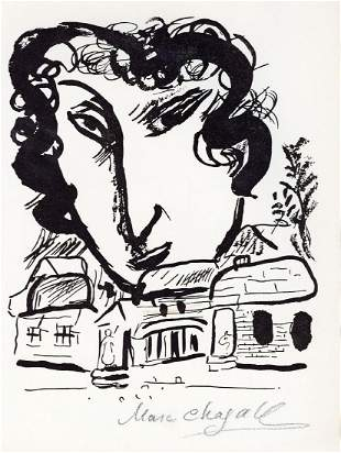 """Chagall, Marc - Lithograph signed """"Marc Chagall"""" in"""