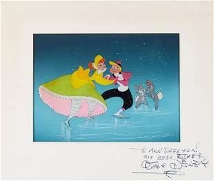 Disney, Walt - Original gouache on celluloid drawing