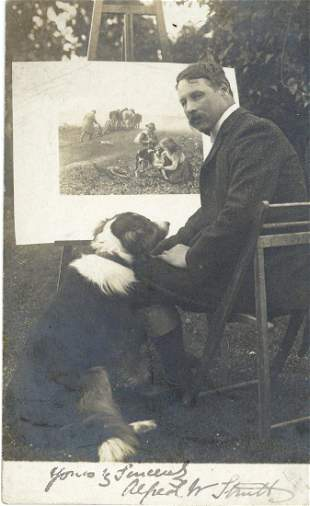 Strutt, Alfred William - Vintage, black and white