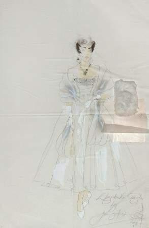 Zielinski-Old (Anne) - Dame Elizabeth Taylor doll,