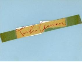 Autograph Album - Incl. John Lennon - Autograph album