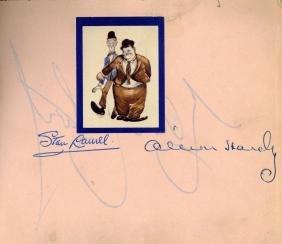 Autograph Album - Incl. Laurel & Hardy - Autograph