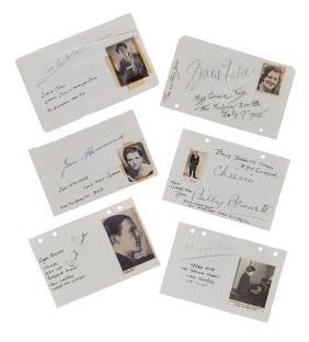 Autograph Collection - Actors & Entertainers - Large