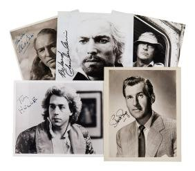 Actors - Collection of signed publicity photographs and