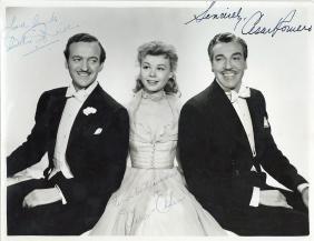 Happy Go Lucky - Original movie still signed by David