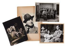 Photograph Collection - Anthony Asquith - A large