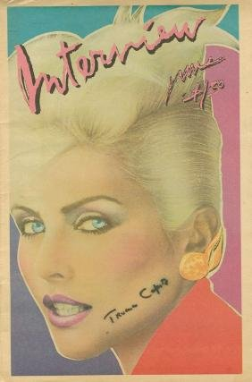 Capote, Truman - Signed front cover of Andy Warhol's