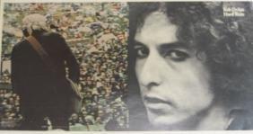 Dylan, Bob - A 'Hard Rain' album proof of Bob Dylan