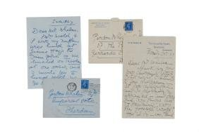 Garden, Mary - Collection of six letters signed to