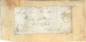 Lord Russell - Panel envelope signed by Lord Russell
