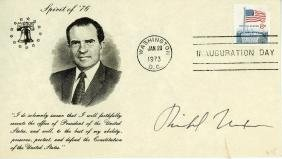 Nixon, Richard - Commemorative Inauguration Day cover