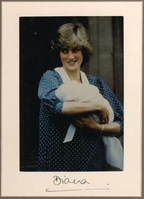 Diana, Princess of Wales - Colour photograph of Diana