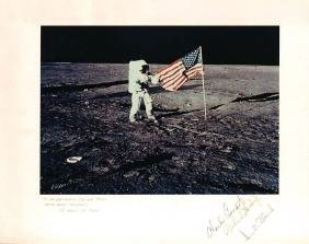 Apollo 12 - Colour photograph featuring Apollo 12