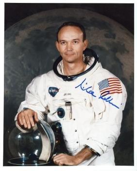 Collins, Michael - Colour photograph of Collins