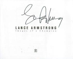 Armstrong,Lance - LANCE ARMSTRONG. IMAGES OF A