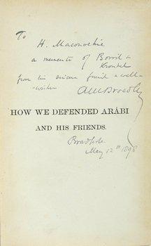 3A: Broadley.How We Defended Arábi,sig,1884
