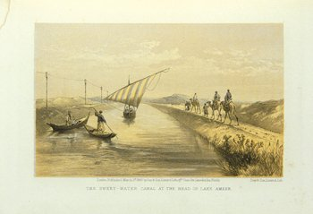 6A: Lynch.Visit to the Suez Canal,lith.pls,1866