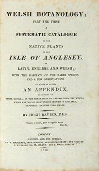 18A: Davies (Hugh) Welsh Botanology,1813