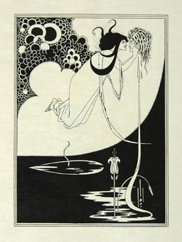 "443A: Beardsley.Portfolio..illustrating ""Salome"""