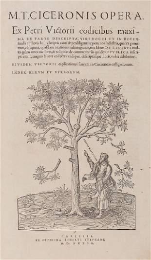 Cicero (Marcus Tullius) - Opera.