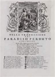 Milton (John) - Il Paradiso Perduto,