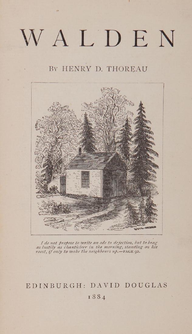 Thoreau (Henry David) - Walden,