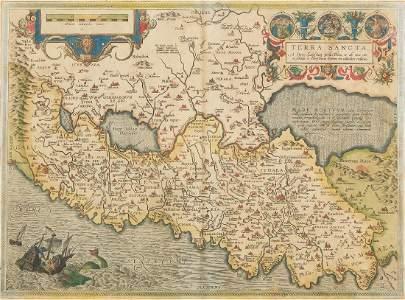 Ortelius (Abraham) - Palestinæ sive totius