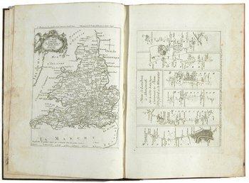22B: Ogilby & Senex The Roads through England