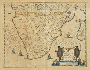 32B: Blaeu (Johan & Willem) Southern Africa