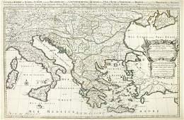 121B Sanson N LEmpire des Turqs en Europe
