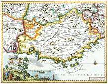 144B Tirion Isaak Map of Provence