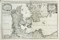 261B: Sanson d'Abbeville (N) Le Royaume de Danemark