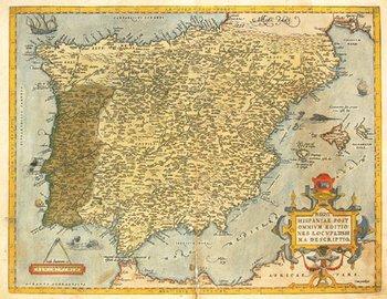 276B: [Ortelius (Abraham)] Regni Hispaniae