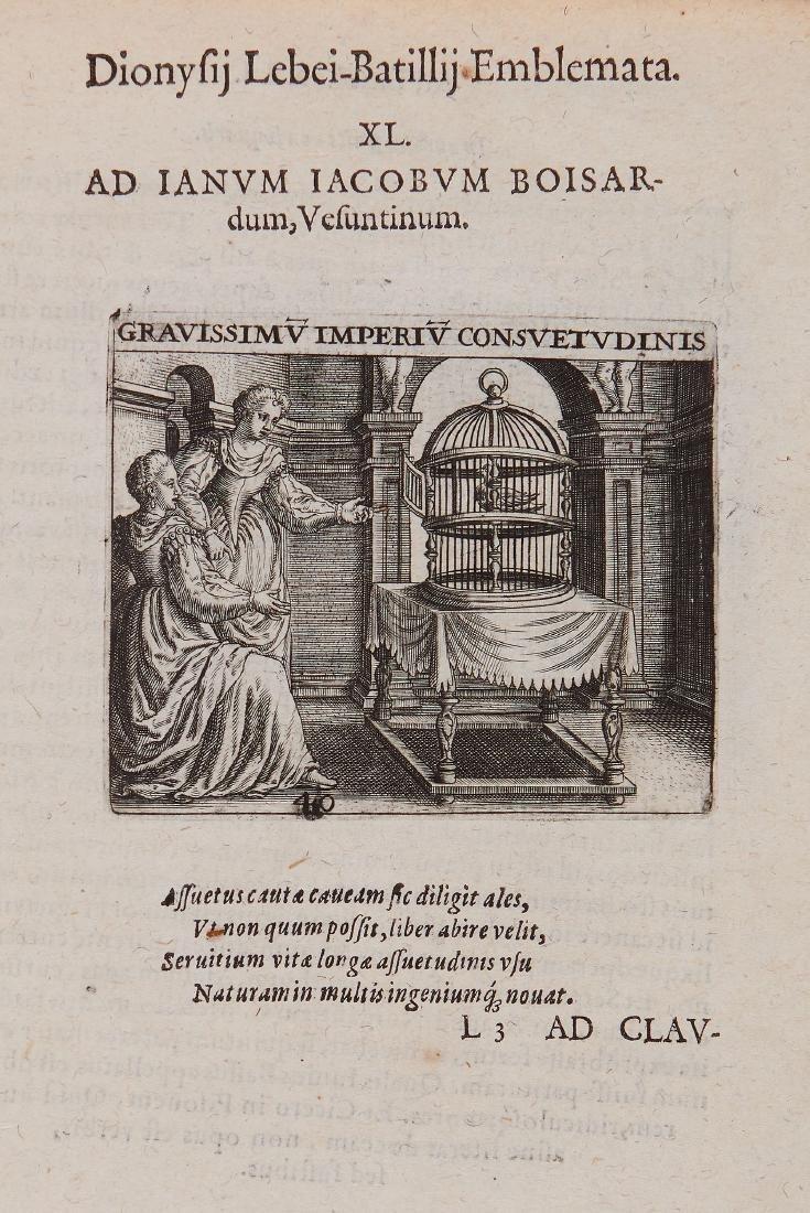 Lebey de Batilly (Denis) - Emblemata...,