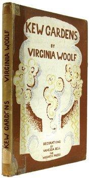 454C: Woolf (Virginia) Kew Gardens, signed
