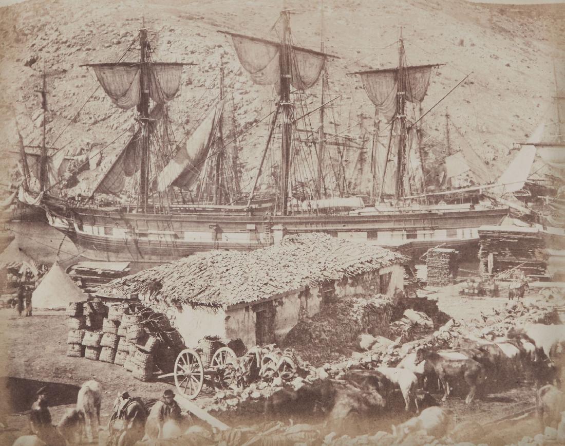 Roger Fenton (1819-1869) - Harbour of Balaklava, The